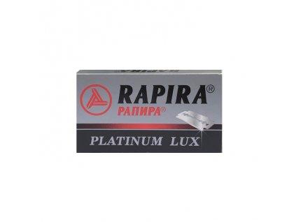 Rapira Platinum Lux žiletky