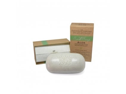 Saponificio Varesino Scrub toaletní mýdlo - Aloe Vera