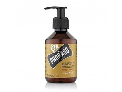 Proraso Beard Wash Wood & Spice - šampon na vousy