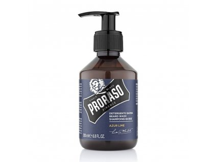 šampon na vousy Proraso Beard Wash Azure Lime