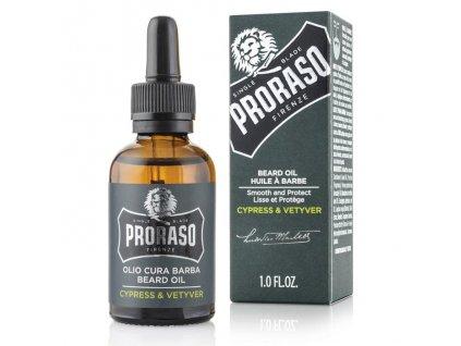 Proraso Beard Oil Cypress&Vetyver-cz.nomorebeard.com
