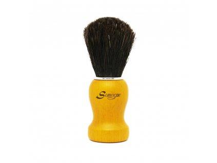Semogue Pharos-C3 štětka na holení z koňských žíní Pure black