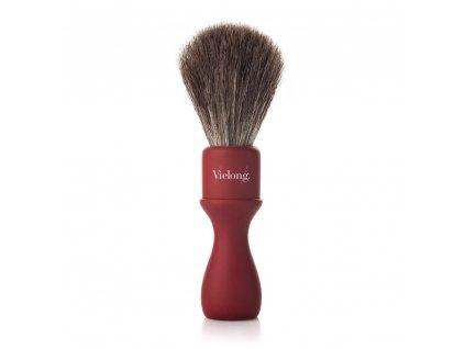 Vielong Professional Americana štětka na holení z koňských žíní - 21 mm červená