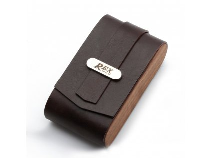 Rex Black Safety Razor Travel Case