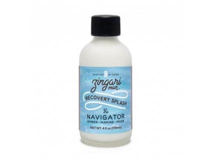 Zingari Man The Navigator Recovery splash