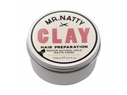 Mr Natty Hair Clay Preparation - fixační přípravek na vlasy