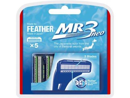 Feather MR3 Neo náhradní břity 5-pack