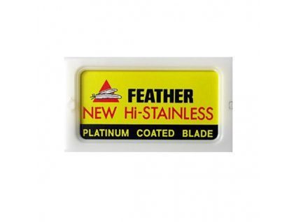 Feather New Hi-Stainless žiletky