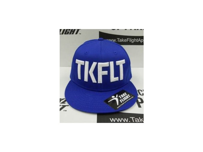 tkflt snapback royal blue small