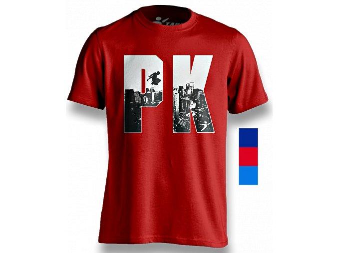 Pk Jumper tee C red copy