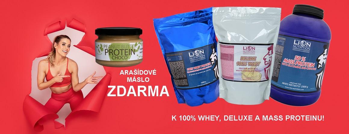Burákové máslo ZDARMA k proteinu