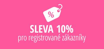 Sleva pro registrované