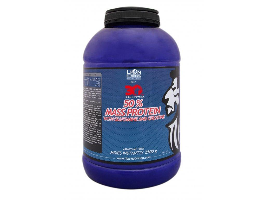 50% Mass protein, 2500g