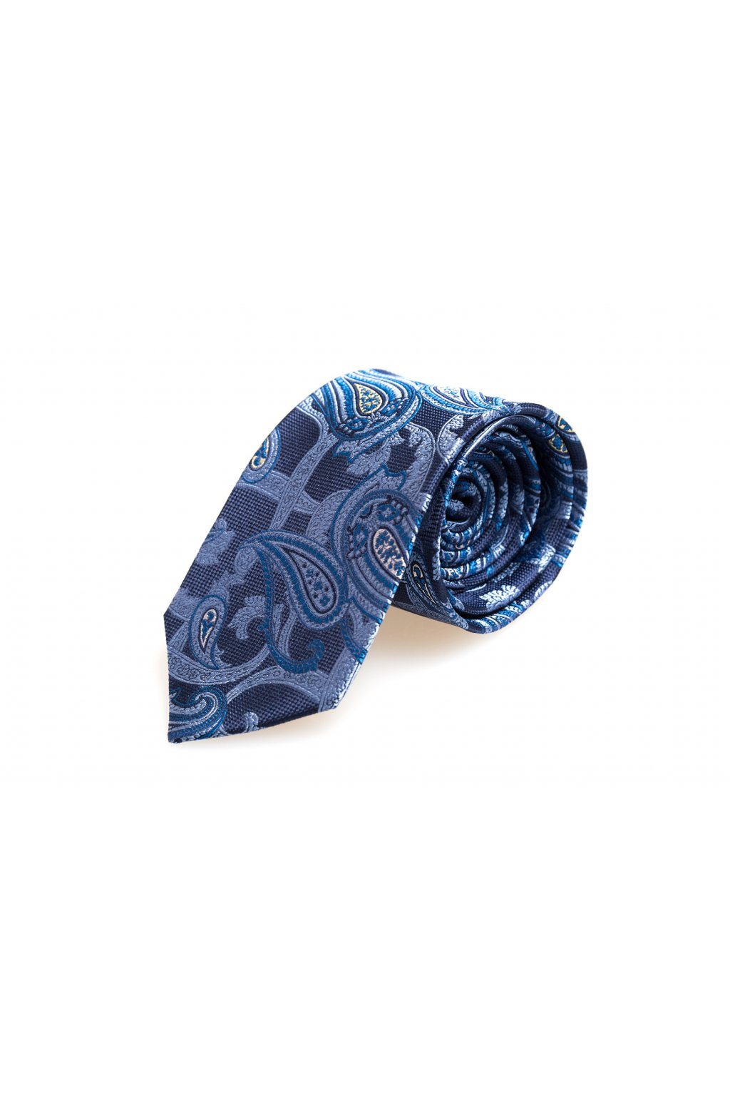 Hedvábná paisley kravata Macauley