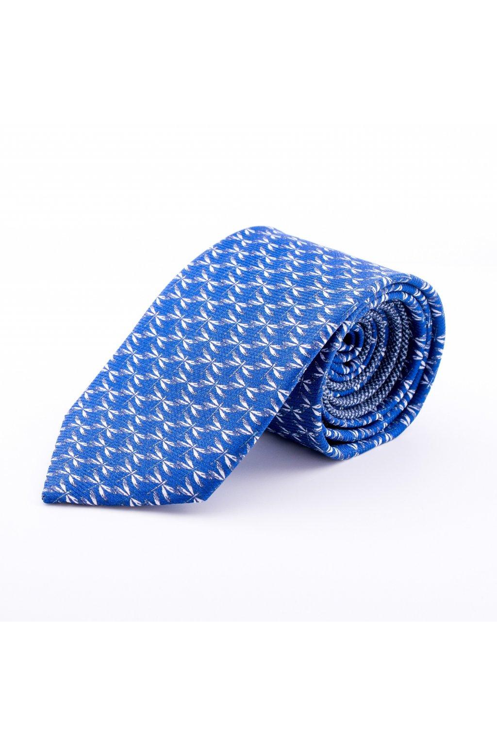 Hedvábná kravata Eutimio dark