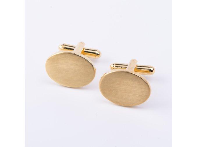 Manžetové knoflíčky zlaté