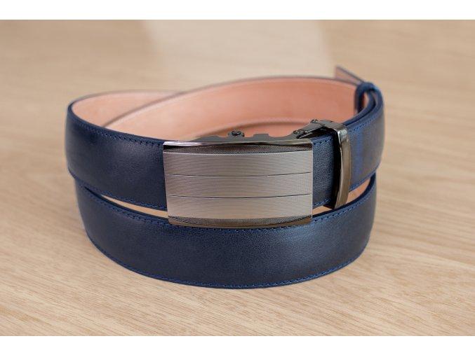Pásek na míru modrý automatický