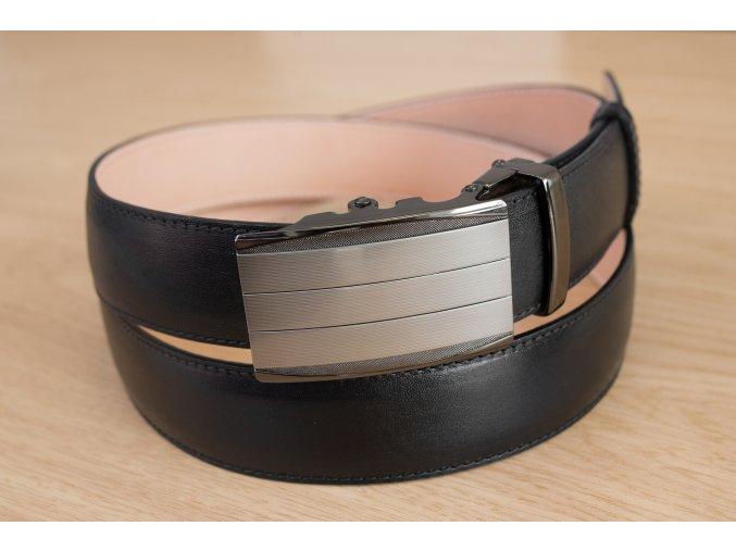 Pásek na míru černý automatický