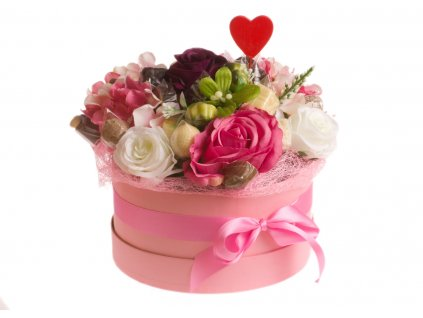 valentýnská kytice