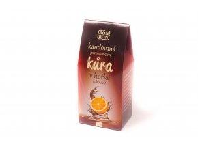 Pomerančová kůra v hořké čokoládě