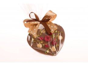 Srdce malé z mléčné čokolády 125g