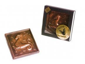 ZNAMENÍ KOZOROH hořká/mléčná čokoláda 100 g.