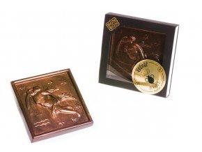ZNAMENÍ VODNÁŘ hořká/ mléčná čokoláda 100 g.
