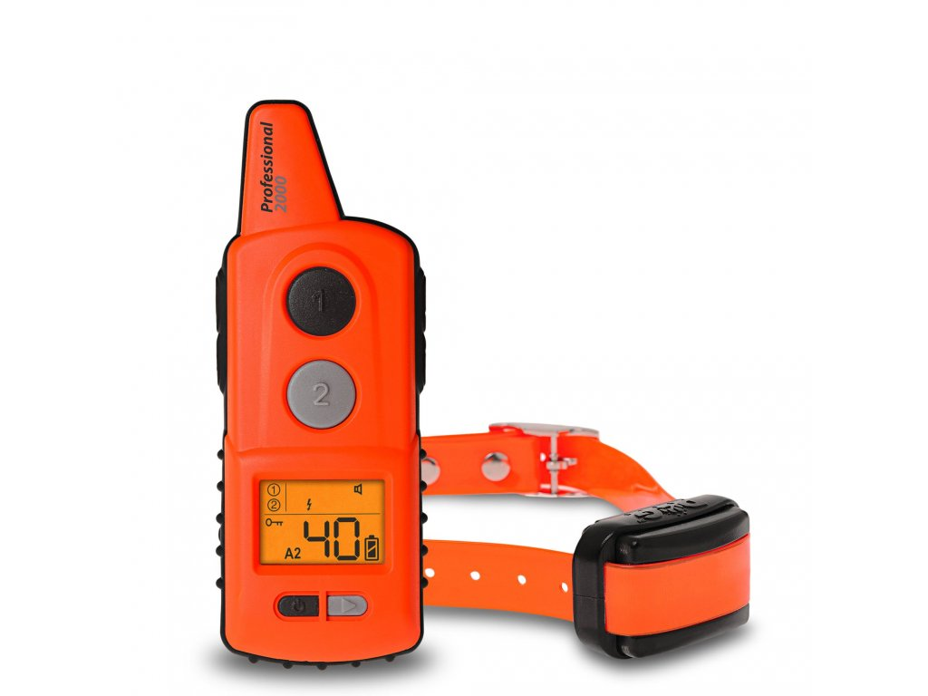 Elektronický výcvikový obojek d‑control professional 2000 1