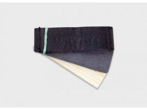 Předměty stopa kůže filc dřevo FCI