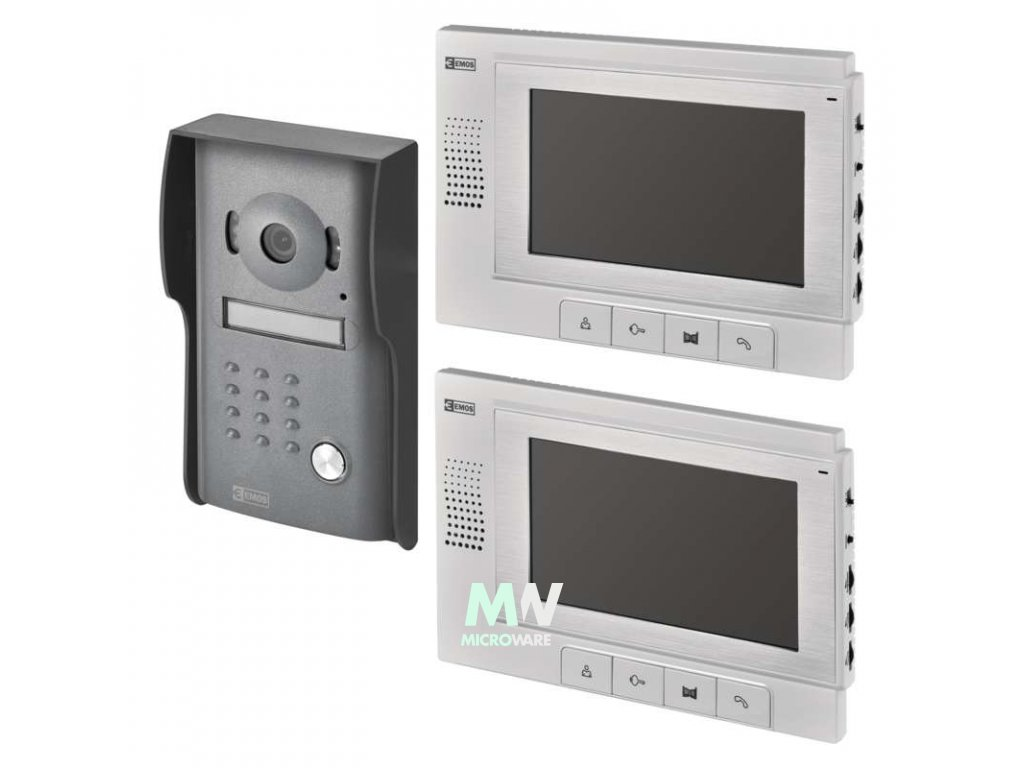 Emos RL-03 Sada videotelefonu pro dva účastníky