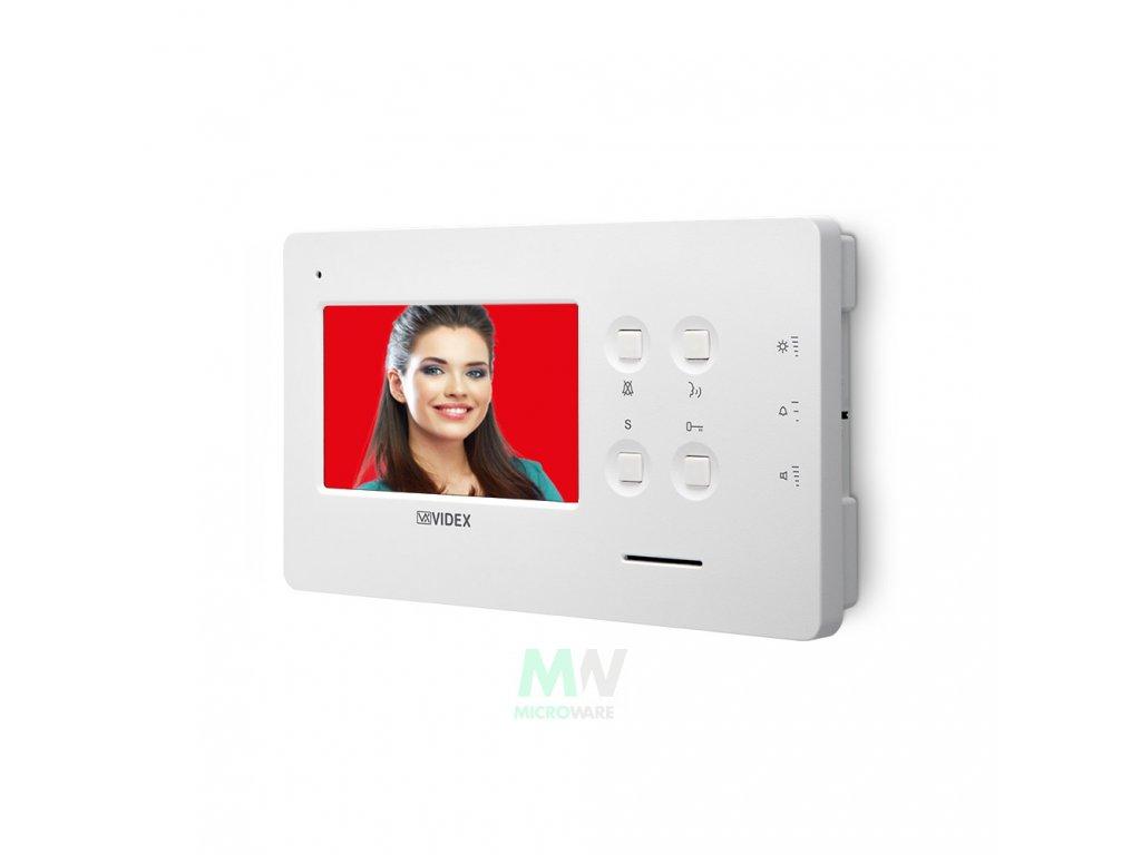"Videx Art. 6488 Barevný 4,3"" BUS2 handsfree videotelefon Videx série 6400"
