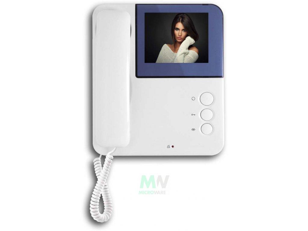 Urmet 956/82 Přídavný sluchátkový videotelefon (slave) k soupravám 956/81 a 956/81HF