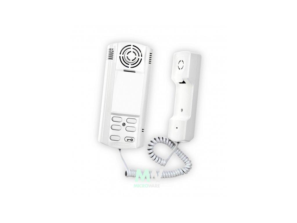Czechphone 4004004350 DOMOVNÍ TELEFON VERONA 17A - SYSTÉM 4+N: 12V, vyzvánění elektrinicky