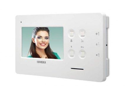 """ART.6478 Videotelefon s barevným LCD displejem 4,3"""" - montáž na šířku"""