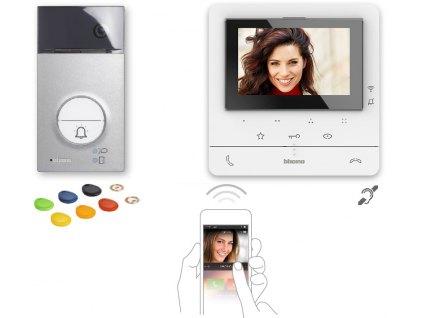 Bticino sada 364614 Videotelefon Classe 100 WIFI a panel Linea 3000