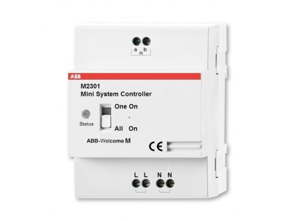 Univerzální řídící mini jednotka pro audio video telefony značky ABB 2TMA210160H0002