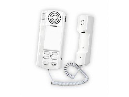 Czechphone 4004004350 VERONA 17A DOMOVNÍ TELEFON - SYSTÉM 4+N: 12V, vyzvánění elektrinicky