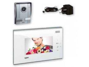 """369210-2 7"""" VIDEO TELEFON (ČERNÝ/BÍLÝ) - 2 Videotelefony (Barevné provedení Černá)"""