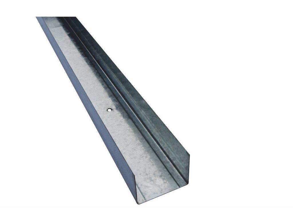 Ocelový výztužný profil UW (50/40/0,6) 3m