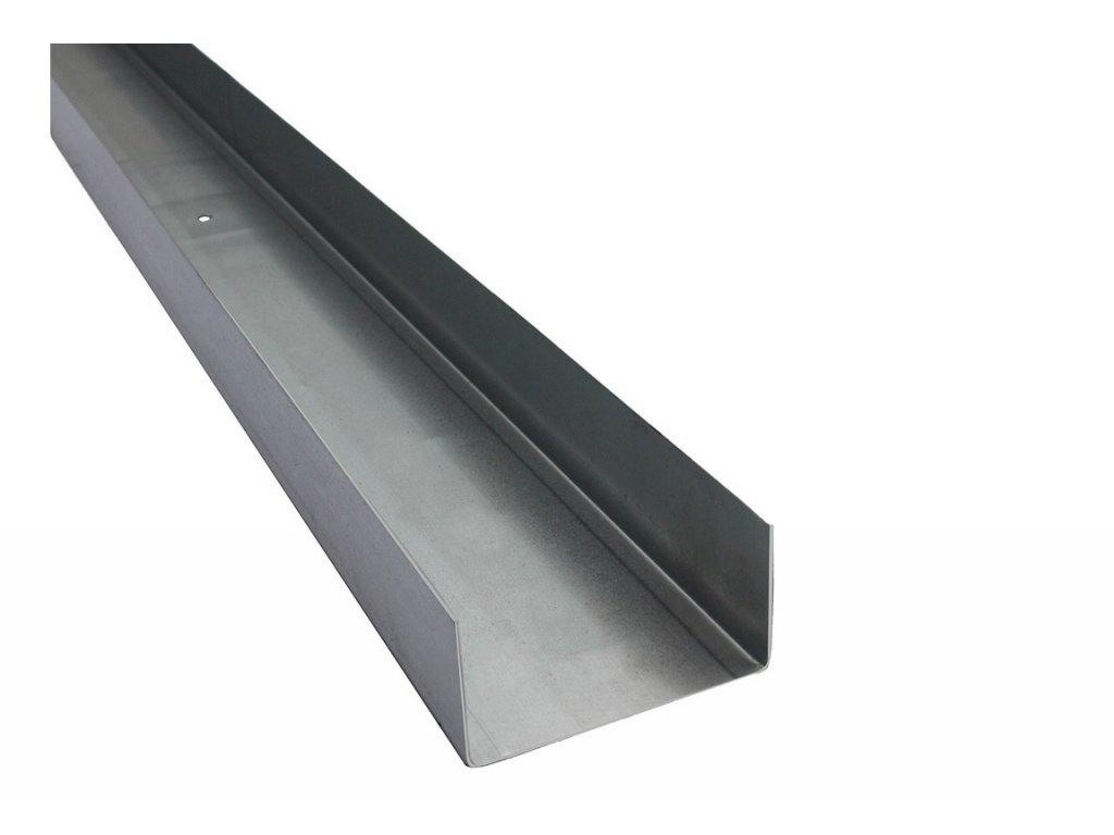 Ocelový výztužný profil UW (75/40/0,6) 3m