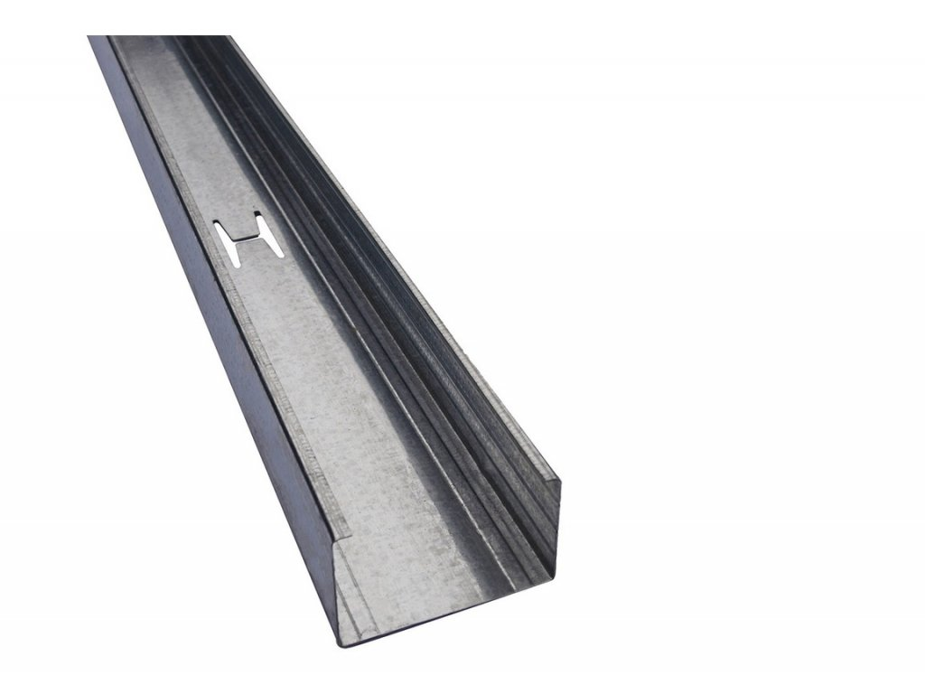 Ocelový výztužný profil CW (100/50/0,6) 4m