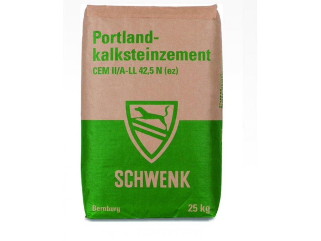 SCHWENK 42,5 N CEM II/A-LL Portlandský vápencový cement - 25 kg