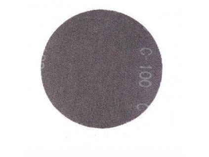 Brusný disk mřížka+suchý zip 225mm,zr 120