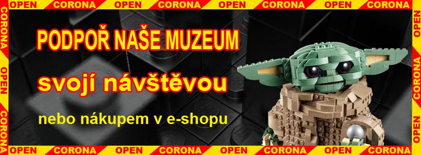 Podpoř muzeum