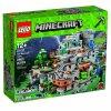 Lego Minecraft 21137 Jeskyně v horách  + volná rodinná vstupenka do Muzea LEGA Tábor v hodnotě 370 Kč