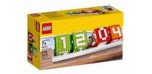 LEGO 40172 Klasický kalendář z kostek LEGO®