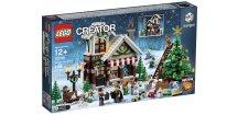 LEGO 10249 Winter Toy Shop  + volná rodinná vstupenka do Muzea LEGA Tábor v hodnotě 370 Kč