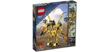 LEGO Movie 70814 Emmetův sestrojený robot