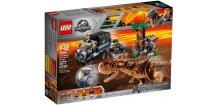 LEGO JURASSIC WORLD 75929 Útěk před Carnotaurem v Gyrosféře
