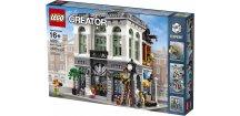 LEGO Creator 10251 Brick Bank  + volná rodinná vstupenka do Muzea LEGA Tábor v hodnotě 370 Kč
